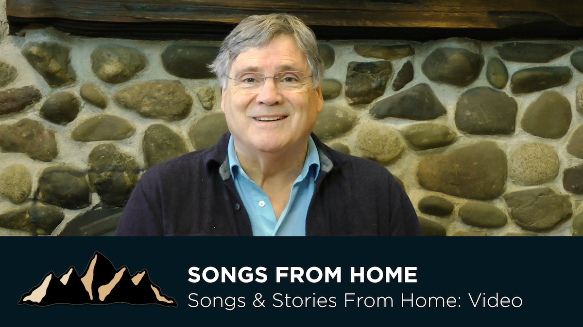 Songs & Stories From Home ~ Episode 1 ~ Mark Pearson Music