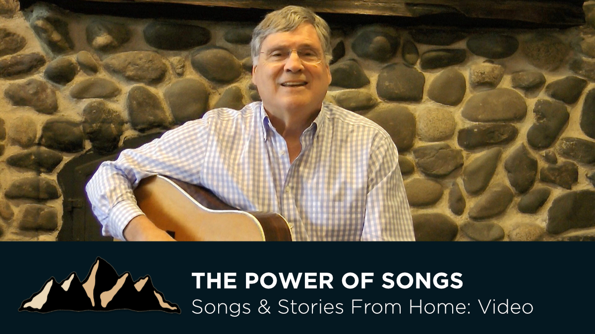 The Power of Songs ~ Songs & Stories From Home Episode 5 ~ Mark Pearson Music