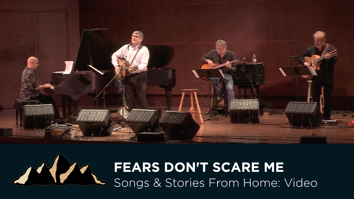 Fears Don't Scare Me Like They Used To ~ Songs & Stories From Home Episode 6 ~ Mark Pearson Music