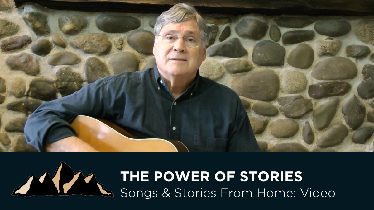 The Power of Stories ~ Songs & Stories From Home Episode 7 ~ Mark Pearson Music