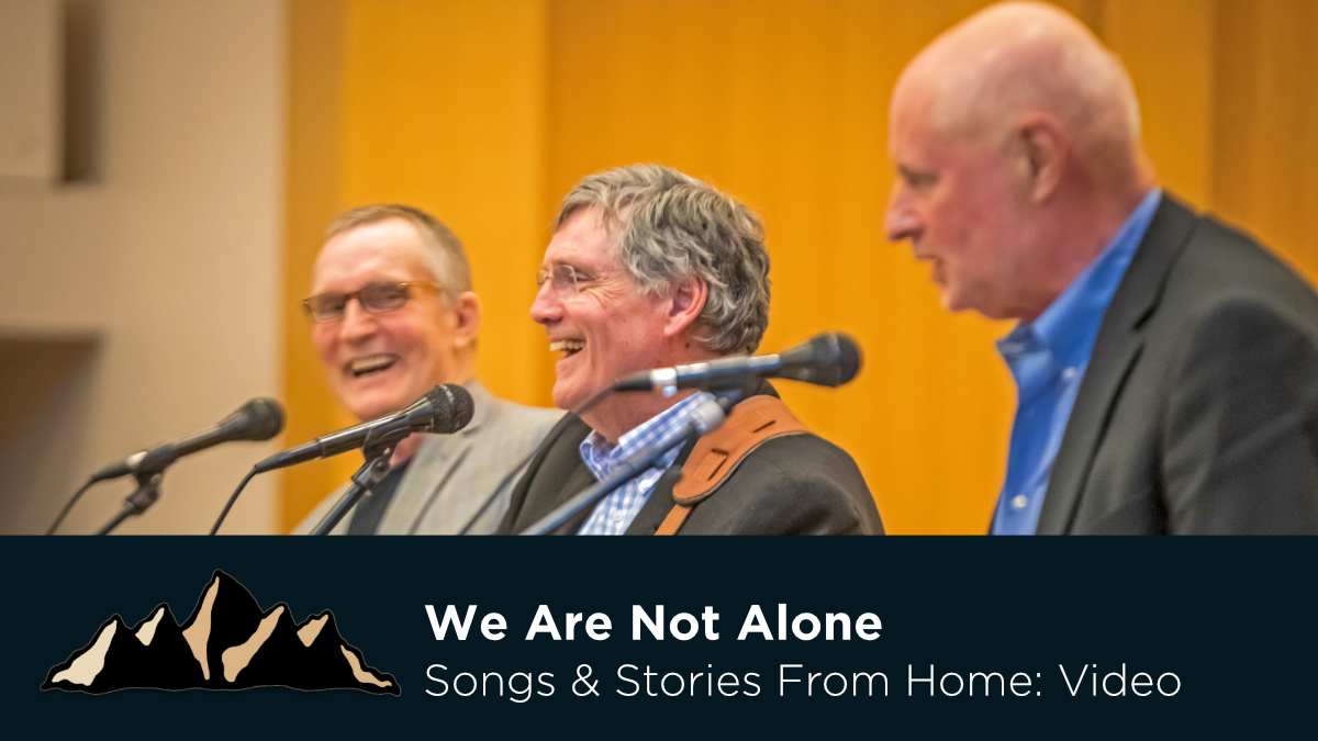 Graduation Celebration Part Four - We Are Not Alone ~ Songs & Stories From Home Episode 12 ~ Mark Pearson Music