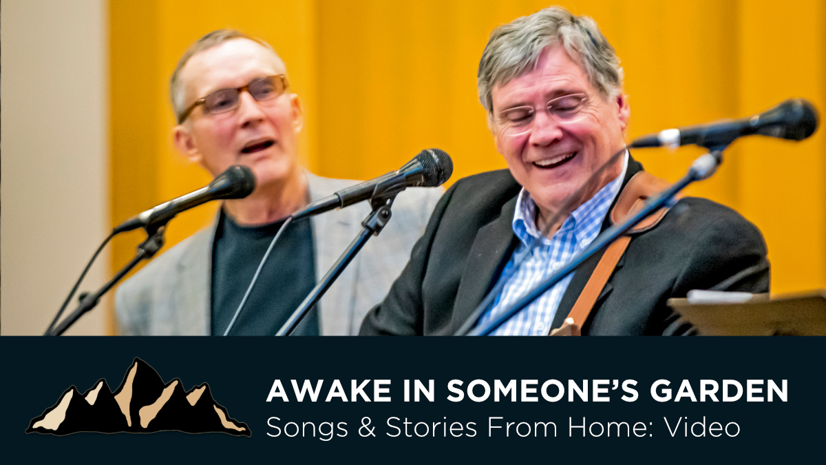 Graduation Celebration Part Six - Awake in Someone's Garden ~ Songs & Stories From Home Episode 14 ~ Mark Pearson Music