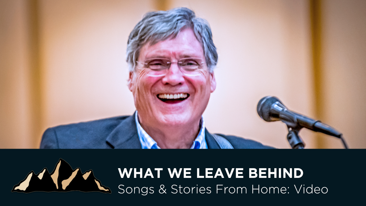 Graduation Celebration Part Seven - What We Leave Behind ~ Songs & Stories From Home Episode 15 ~ Mark Pearson Music
