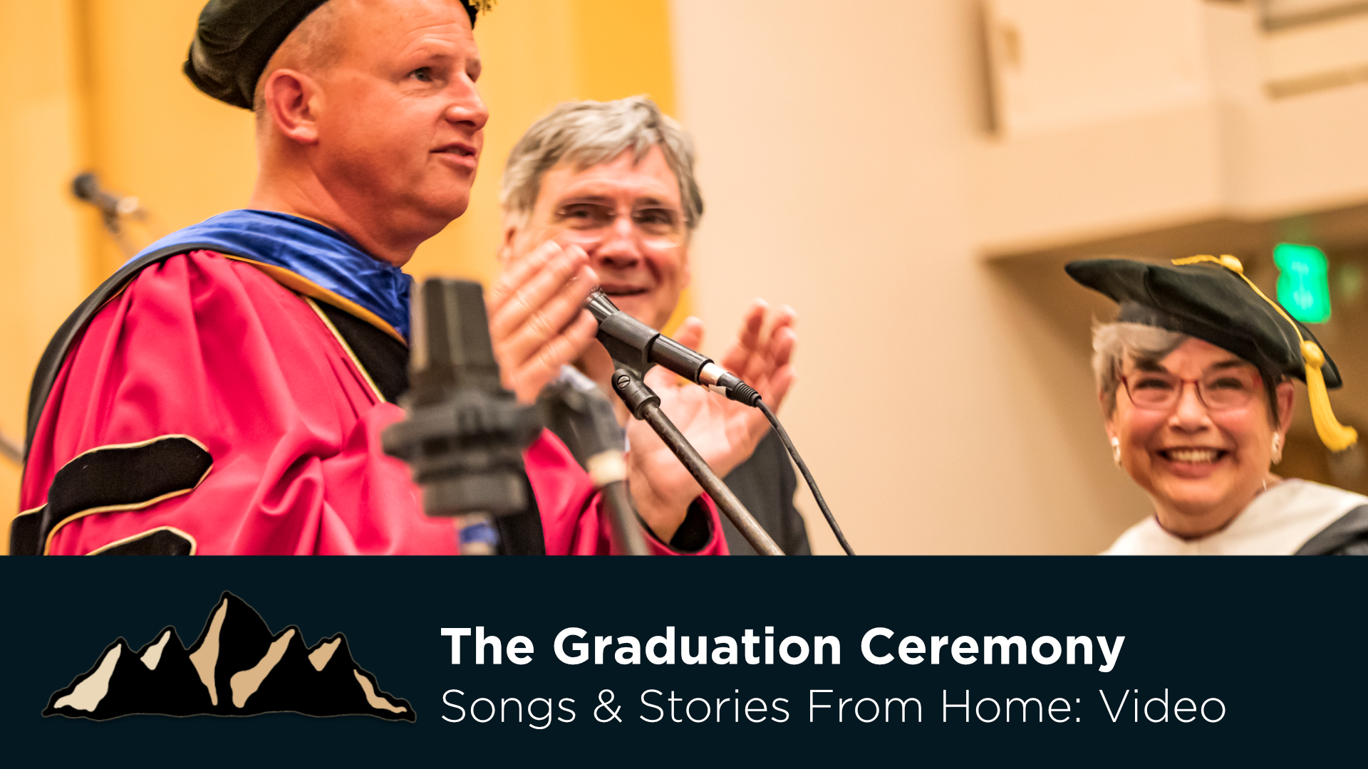 Graduation Celebration Part Nine - The Graduation Ceremony ~ Songs & Stories From Home Episode 17 ~ Mark Pearson Music
