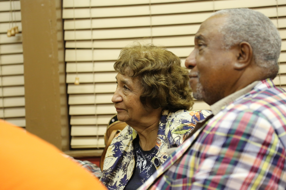 Dr. Bernard LaFayette and his wife, Kate