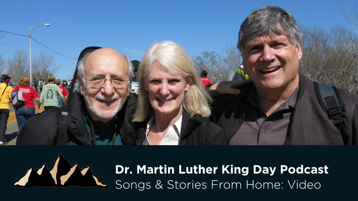 Dr. Martin Luther King Day Podcast ~ Songs & Stories From Home Episode 33 ~ Mark Pearson Music