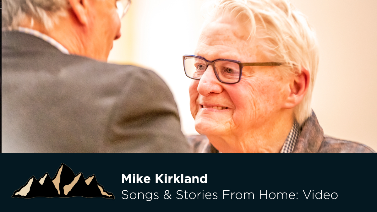 Mike Kirkland ~ Songs & Stories From Home Episode 35 ~ Mark Pearson Music