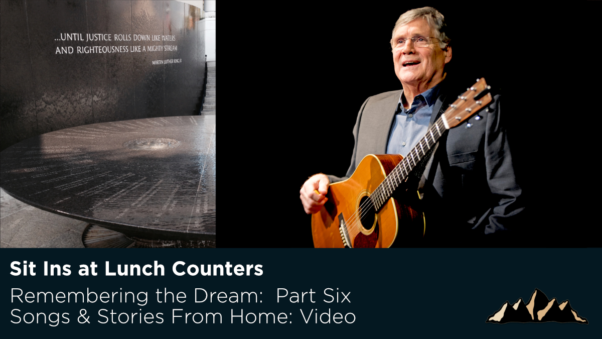 Sit Ins at Lunch Counters ~ Songs & Stories From Home Episode 41 ~ Mark Pearson Music