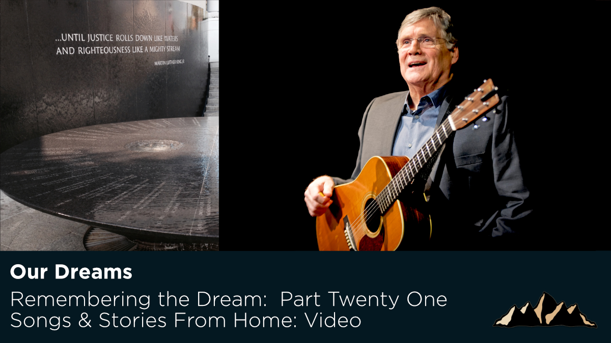 Our Dreams ~ Songs & Stories From Home Episode 56 ~ Mark Pearson Music