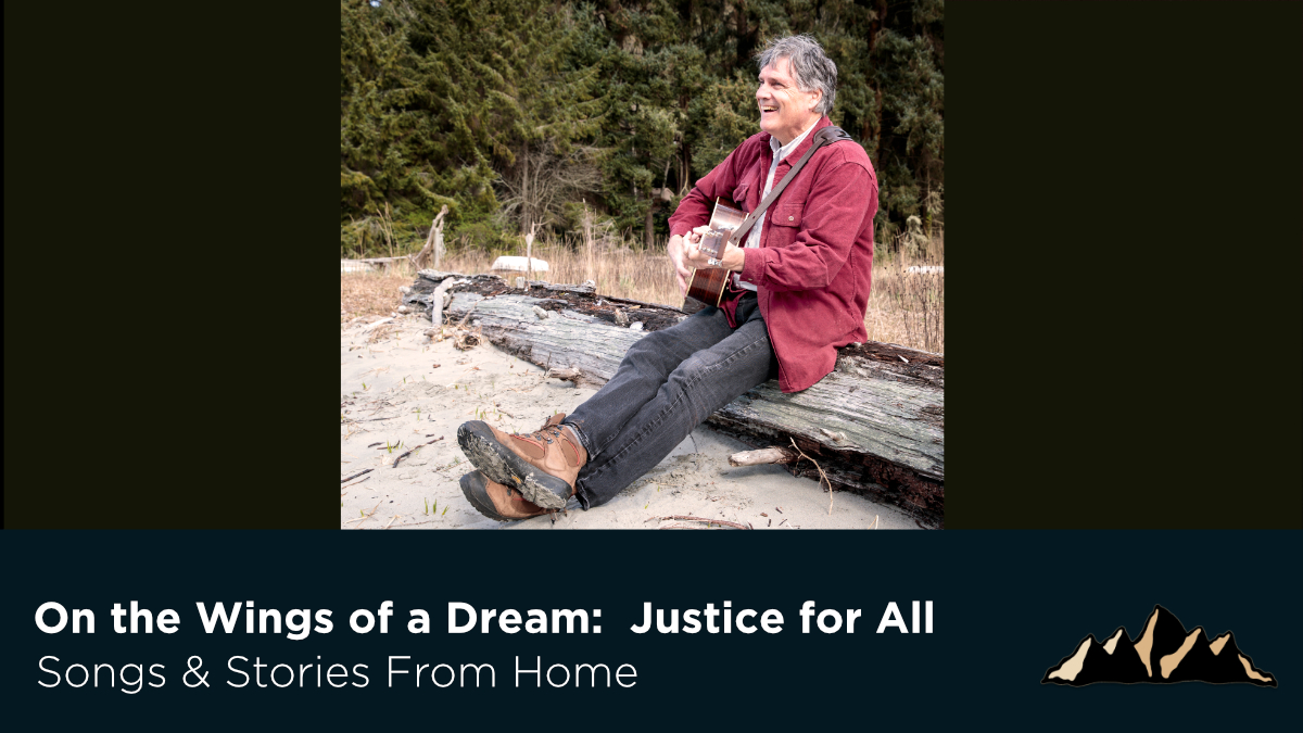 Justice for All ~ Songs & Stories From Home Episode 59 ~ Mark Pearson Music