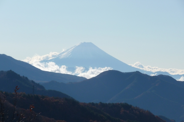 "Mt. Fuji from the ""back side"""