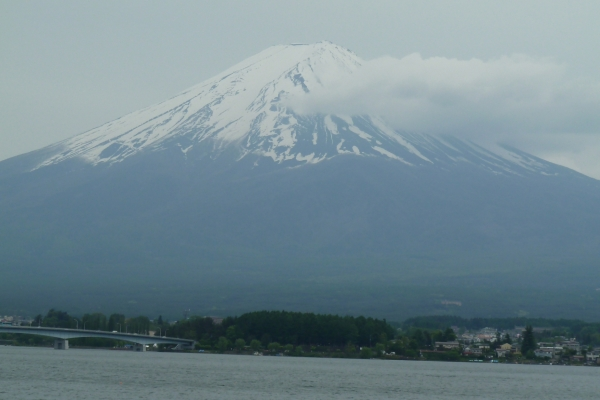 Mt. Fuji and the lake