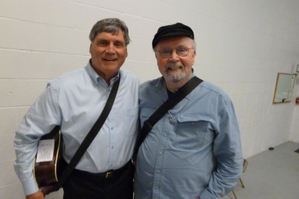 Backstage with Tom Paxton
