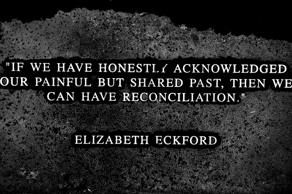 Reconciliation comes only when there is truth