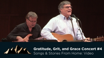 Gratitude, Grit and Grace Concert #4: