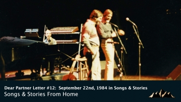 Dear Partner Letter #12:  September 22nd, 1984 in Songs & Stories: